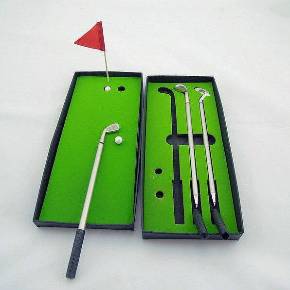 Mini golf modelo brinquedos para crianças e adultos em mesa de escritório antistress presente