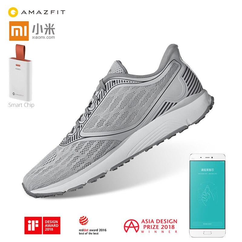 Xiaomi Mijia Amazfit Antelope уличная спортивная обувь для бега ERC Материал Резиновая поддержка смарт-чип кроссовки для мужчин и женщин