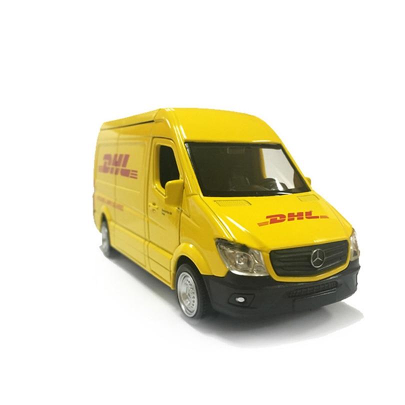 Camion wDHgL 1:36 jouet de Simulation véhicules en alliage, réplique de Mini voiture à tirer autorisée par le modèle d'usine Original