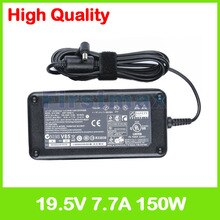 19.5 V 7.7A 150 W laptop AC power adapter caricabatteria per Asus A4 A4D A4G A4Ga A4K A4Ka A4L A4O A4S A4Sp A4000 A4000D A4000G