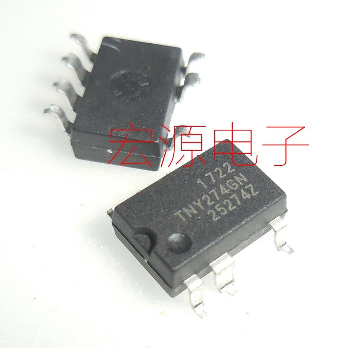 10pcs  TNY274GN TNY274 TNY274G TNY274GNG Power Chip LCD Power Management IC Chip SOP-7