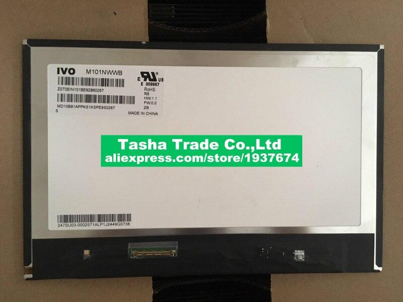 M101NWWB-R8 M101NWWB R8 IPS 1280*800 شاشة LCD مصفوفة لوحة 10.1 بوصة LVDS 40 دبابيس محمول استبدال WXGA