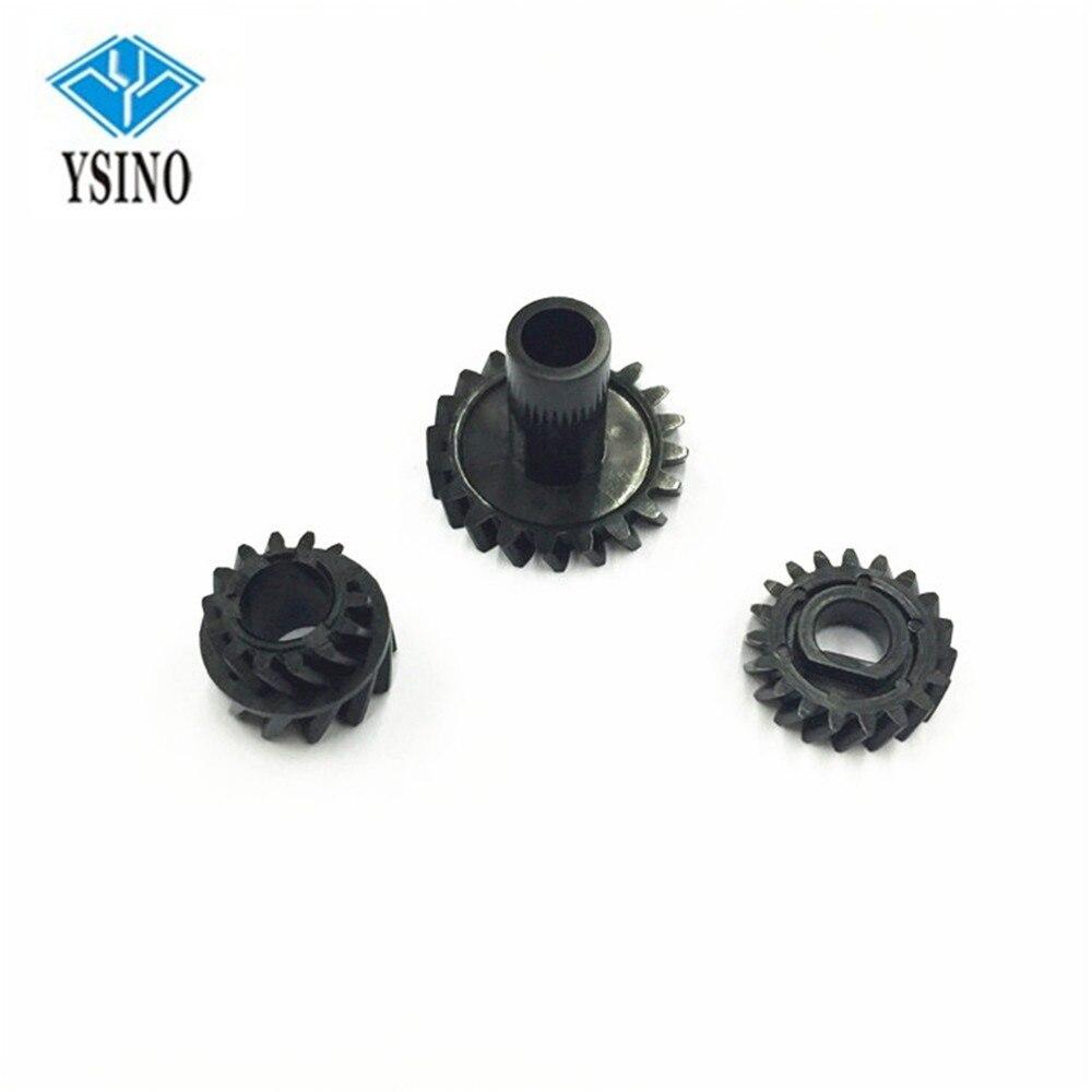 Conjuntos de Engrenagens Desenvolvedor Original A1UD-3710-00 2 A1UD-3709-00 4163522401 Desenvolvimento Conjunto de Engrenagens Para Konica Minolta Bizhub 283 363 423