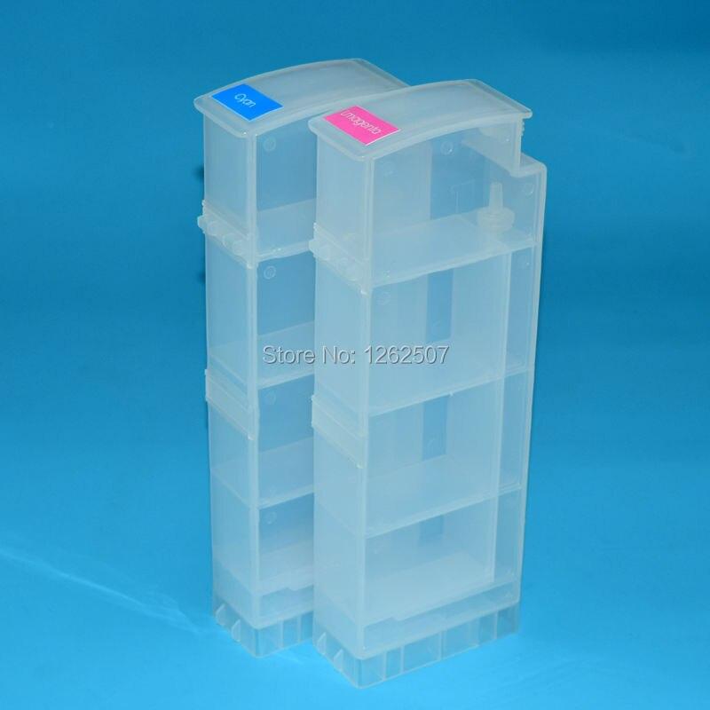 BOMA-TEAM 8 colores * 800ml HP91 6100 cartucho de recarga de tinta Ciss a granel para HP Designjet z6100 Plotter de inyección de tinta sin decodificador de chip