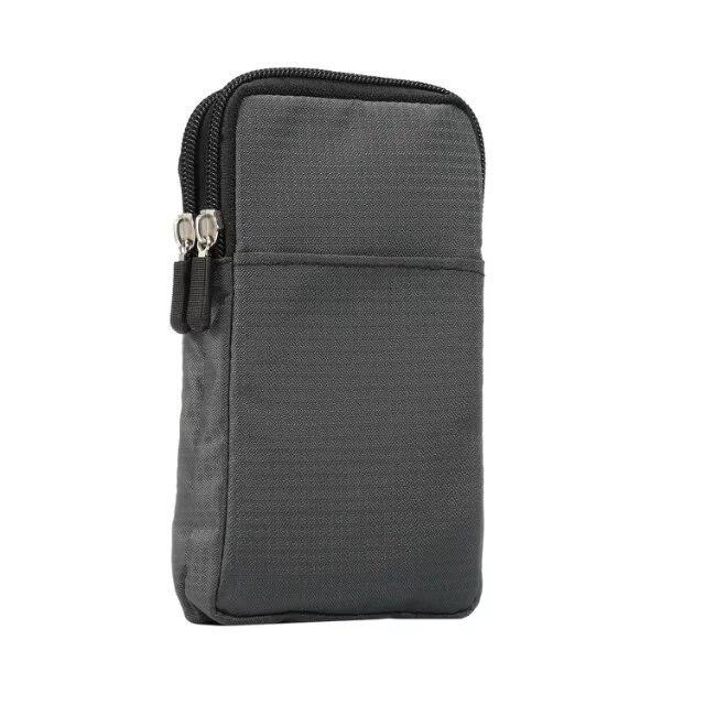 Deporte caja del teléfono para HTC Desire 825, 828 de 830 U11 una E9 cubierta bucle gancho con cinturón bolsa exterior Doble bolsa con bolsillos