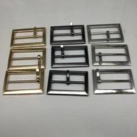 metal square belt buckles for shoes bag garment decoration silver bronze gold belt buckles decoration diy accessory sewing 25mm