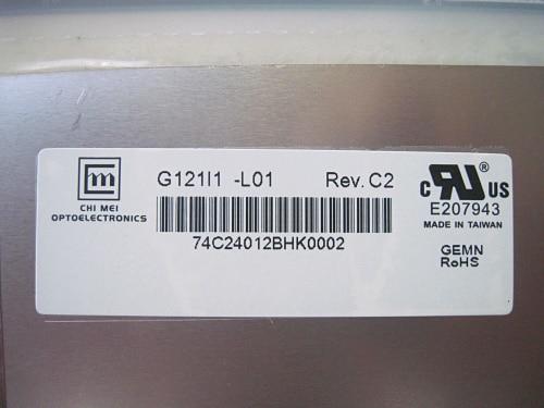 G121I1-L01 CHIMEI INNOLUX A + 12.1 بوصة عالية التباين الصناعية TFT LCD لوحة