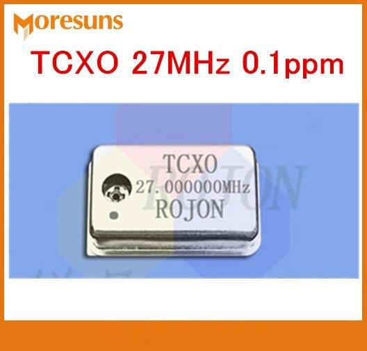 Sonido de fihi oscilador de cristal tcxo 27MHz 0.1ppm13 5 MHz 54MHz 22,5792 MHz 24.576MHz 33,8688 MHz 49.152MHz 45,1584 MHz 108MHz