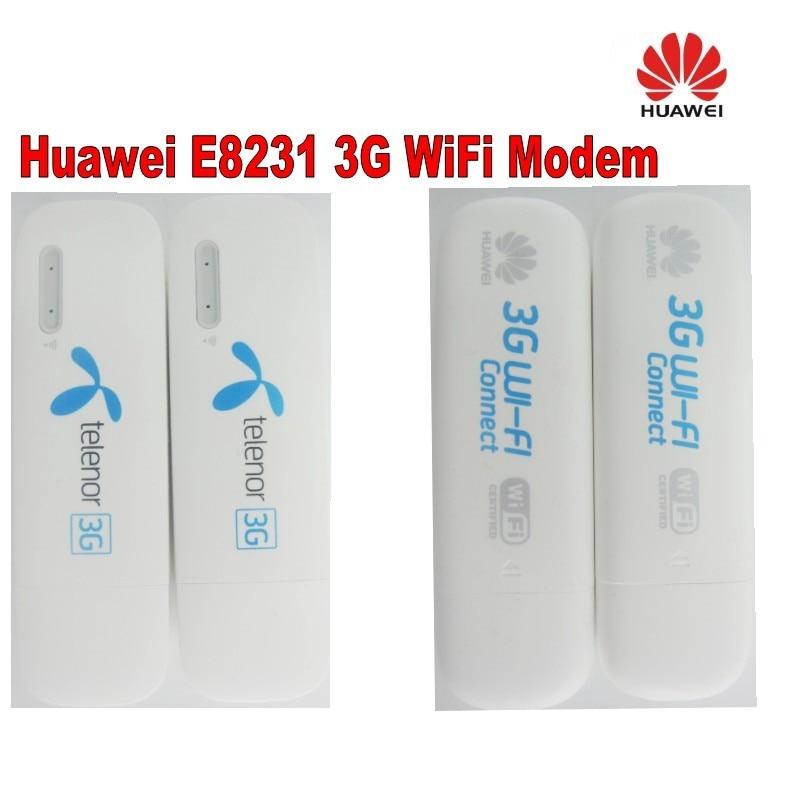 Lot of 10pcs Unlock Huawei E8231 21.6Mbps 3G HSPA+ Wireless Modem WiFi Dongle Mobile Hotspot 21Mbps 3G WiFi Modem Router