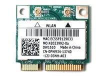 Карта беспроводного адаптера для беспроводной сети Broadcom BCM94322HM8L Dell DW1510 BCM4322hm8l bcm4322 2,4 & 5G 300M WiFi