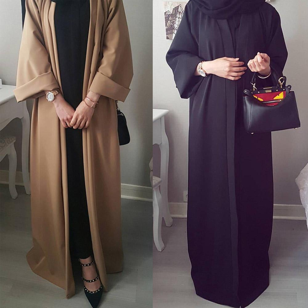 Kaftan Abaya femme Robe Dubai Cardigan Muslim Hijab Dress Abayas For Women Qatar Jilbab Caftan Marocain Turkish Islamic Clothing