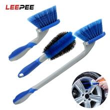 LEEPEE автомобиля с подробным описанием губка для мытья автомобиля инструмент шин Чистящая Щетка для машины колесная щетка
