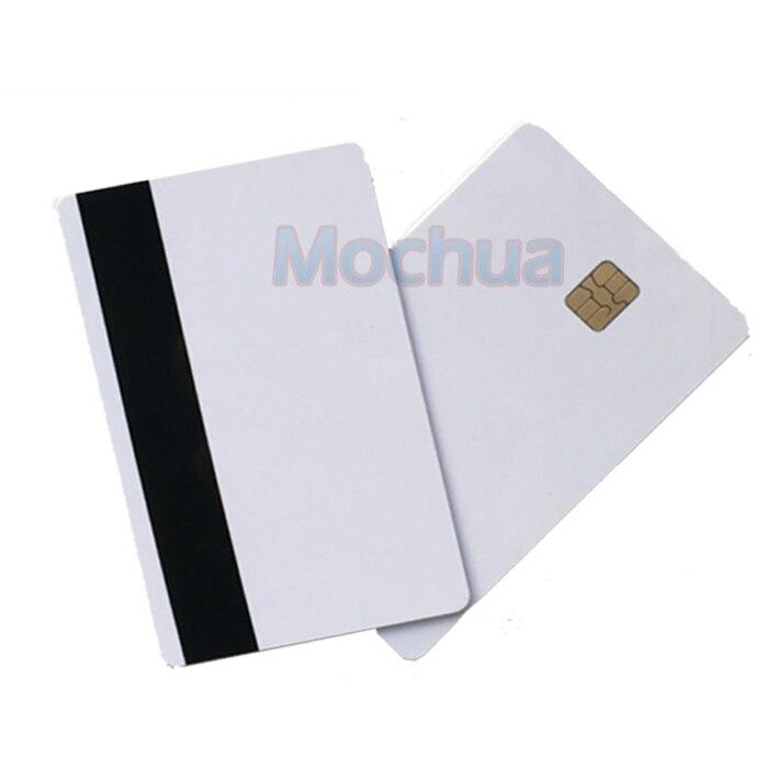 Póngase en contacto con SLE4442 Chip ISO7816 PVC inteligente IC tarjeta con 2750oE Hola Co Mag-de-10 Uds