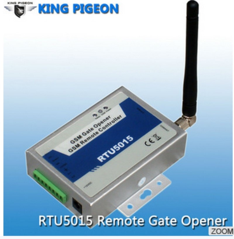 GSM 3G SMS interruptor de control de tiempo para el hogar y los propietarios de garaje RTU 5015 GSM sistema de alarma