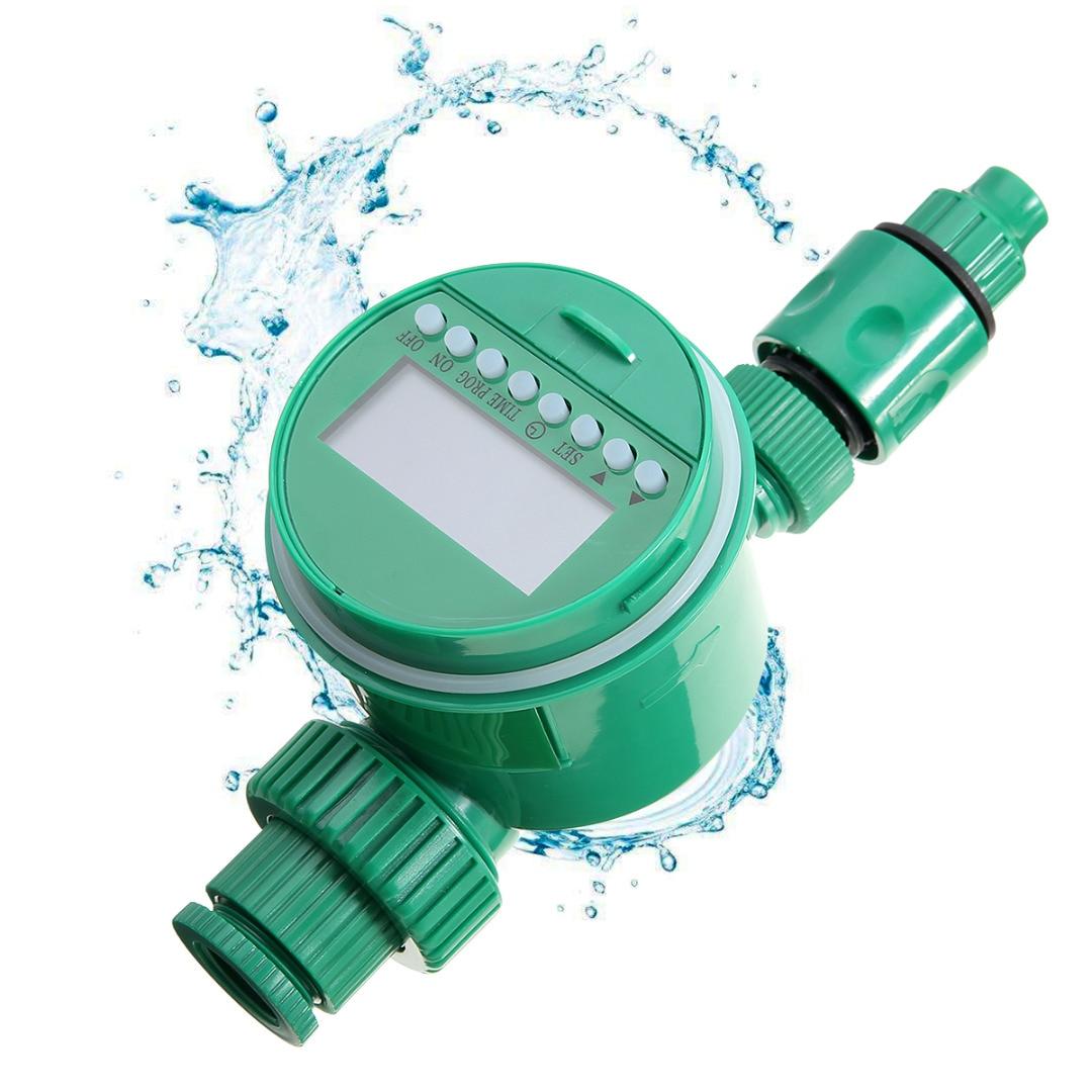 Mayitr, temporizador de riego de jardín, reloj Digital LCD programable, temporizador de riego, sistema de controlador de riego automático para jardín