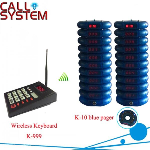 1 transmisor + 20 localizadores; localizador inalámbrico de posavasos para restaurante café sistema de búsqueda de invitados de comida rápida