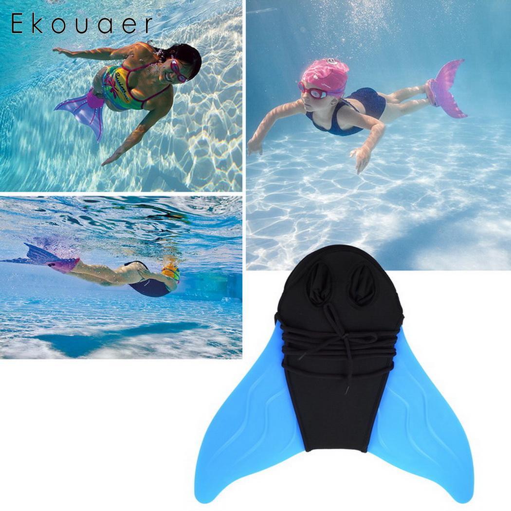 Для взрослых и детей Плавание ming плавники тренировочная моноласта хвост русалки
