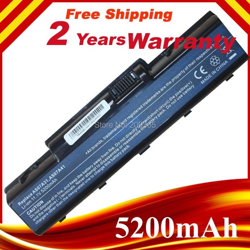 Batería de 4400mAh para Acer Aspire 2930 4530 AS07A31 AS07A32 AS07A41 AS07A42...