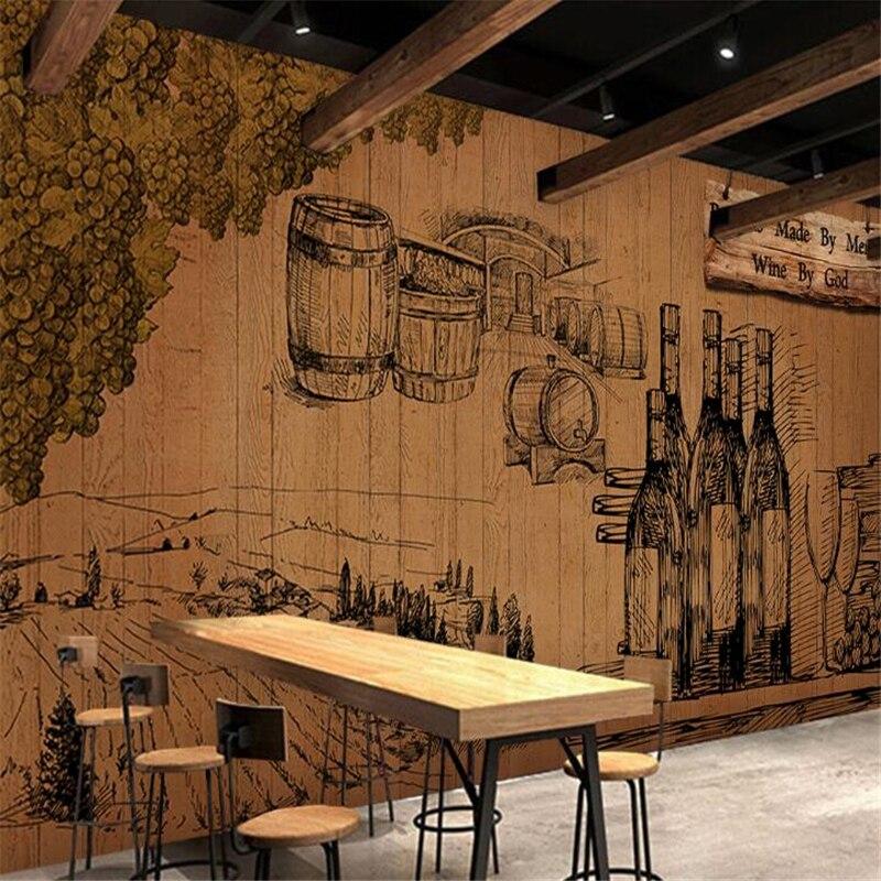Wellyu-papel tapiz de pared para cuarto, papel tapiz personalizado Vintage, Fondo de...