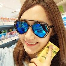 Women Fashion Irregular Multilateral Sunglasses Female Brand Desinger Luxury Popular Sun Glasses For