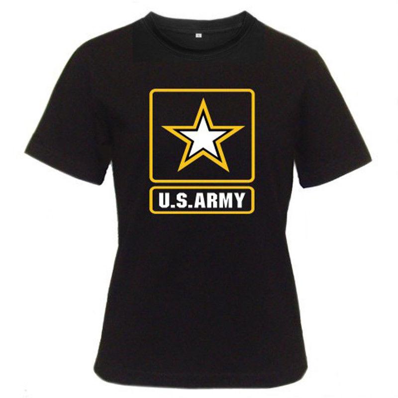 2017 nueva camiseta de moda Homme Camisetas Hip Hop nuevo ejército de los EE. UU. Ejército de las Fuerzas Especiales camisa