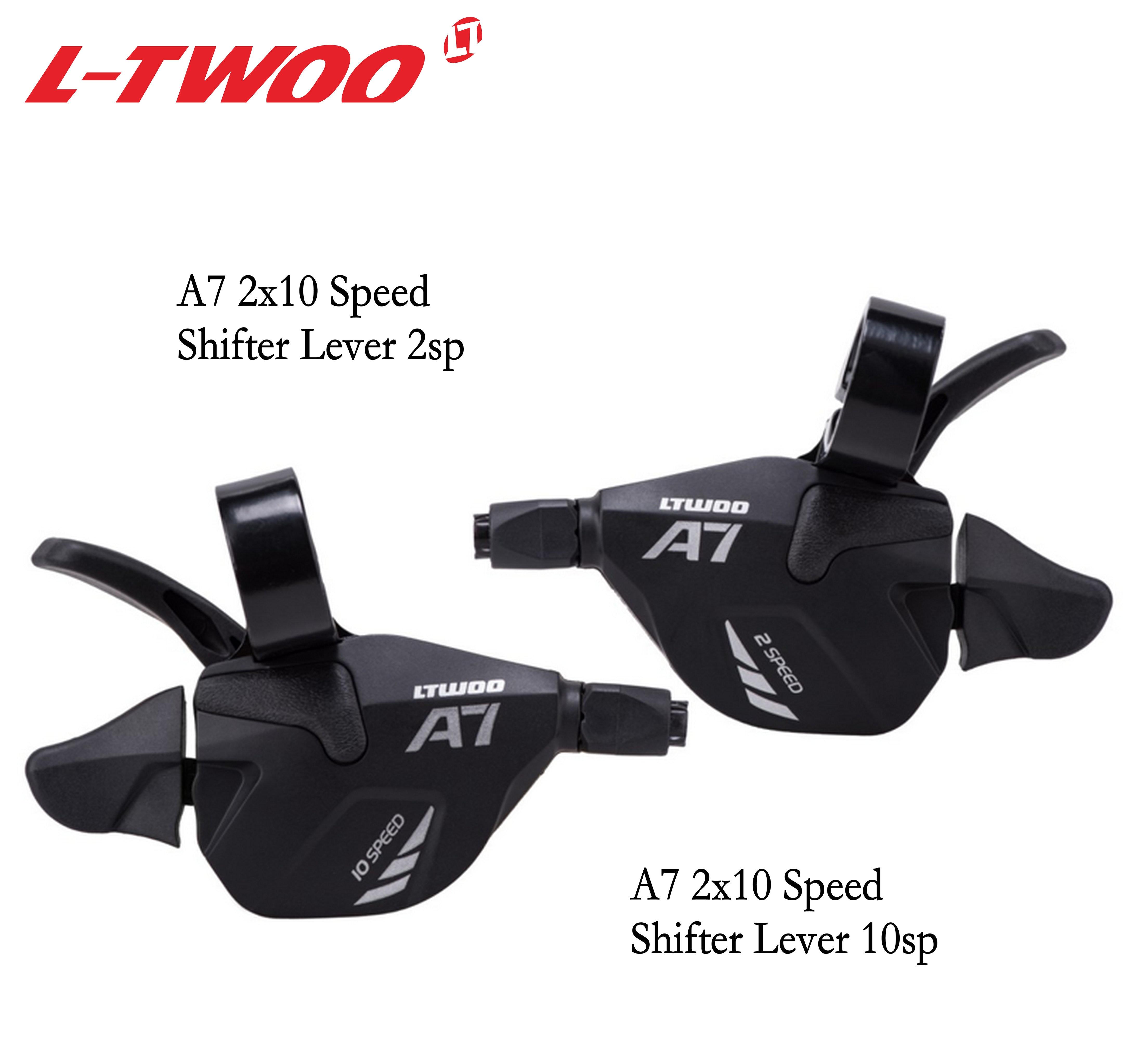 LTWOO A7 LTWOO Groupe 2X10 3X10 Vitesse 30S 20S Déclencheur manette de vitesse levier Pour vtt VTT Cassette 1146 T/50 T, X9X7 PIÈCES de rechange