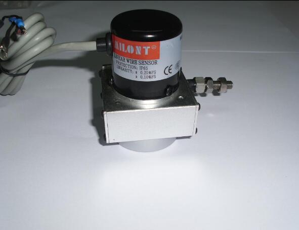 Wire rope sensor encoder  Cable sensor Pull distance measuring ruler.  MPS-R (Resistance signal output ) 2250mm-4000mm
