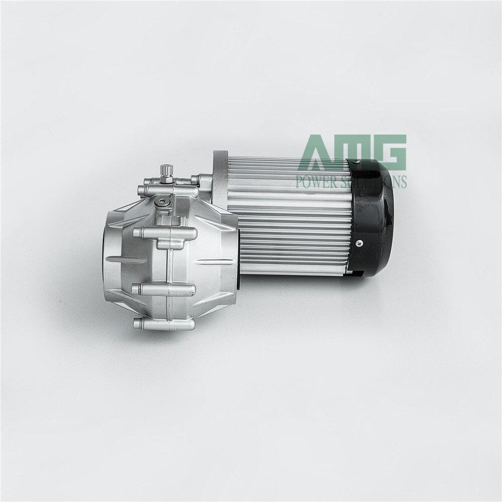 1500 W/1800 W/2200 W DC 48/60/72V 2850rpm motor Diferencial sin escobillas de alta velocidad para triciclo eléctrico, BM1424HQF
