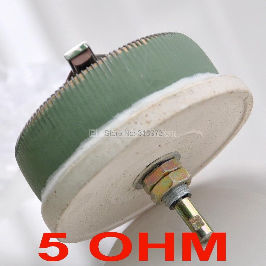 100 w OHM High Power Wirewound Potenciômetro 5, Reostato, Resistor Variável, de 100 Watts.