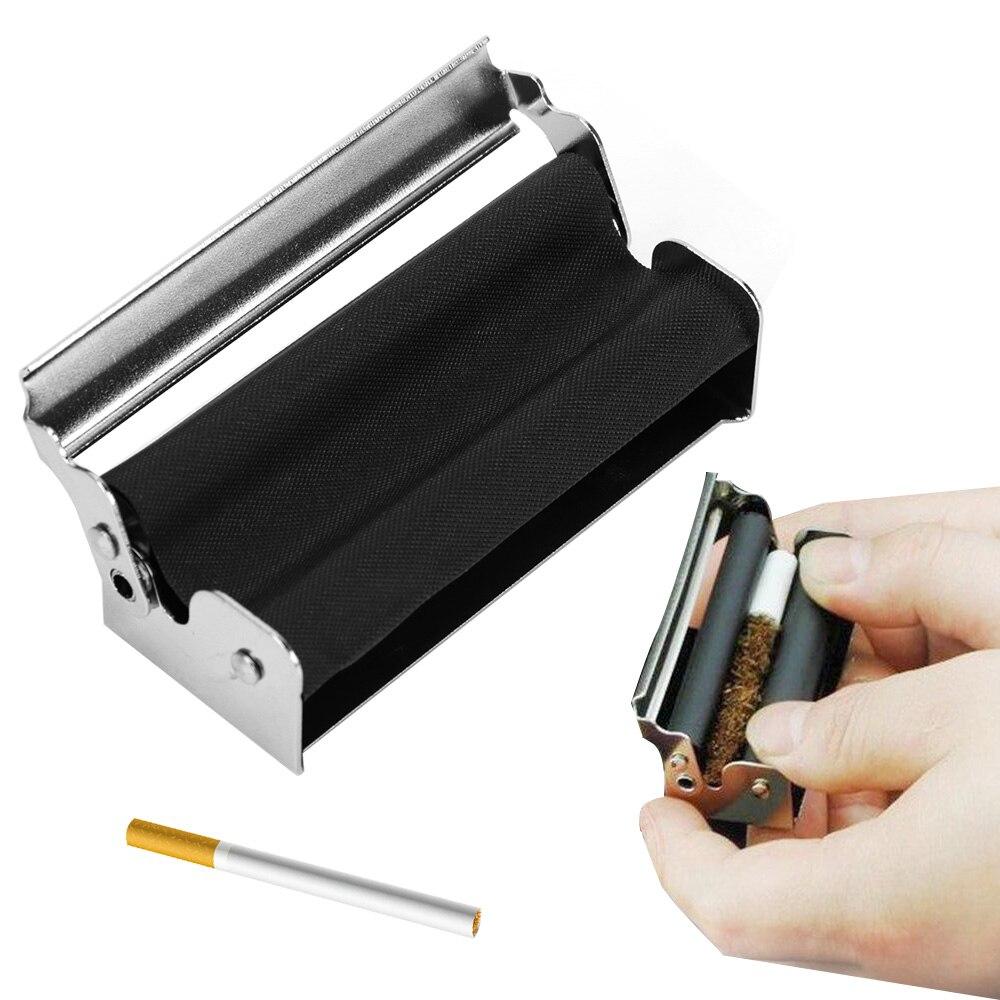 Tabaco rodillo fabricante de cigarrillos máquina de laminación portátil Dispositivo de cigarrillos accesorios para fumar