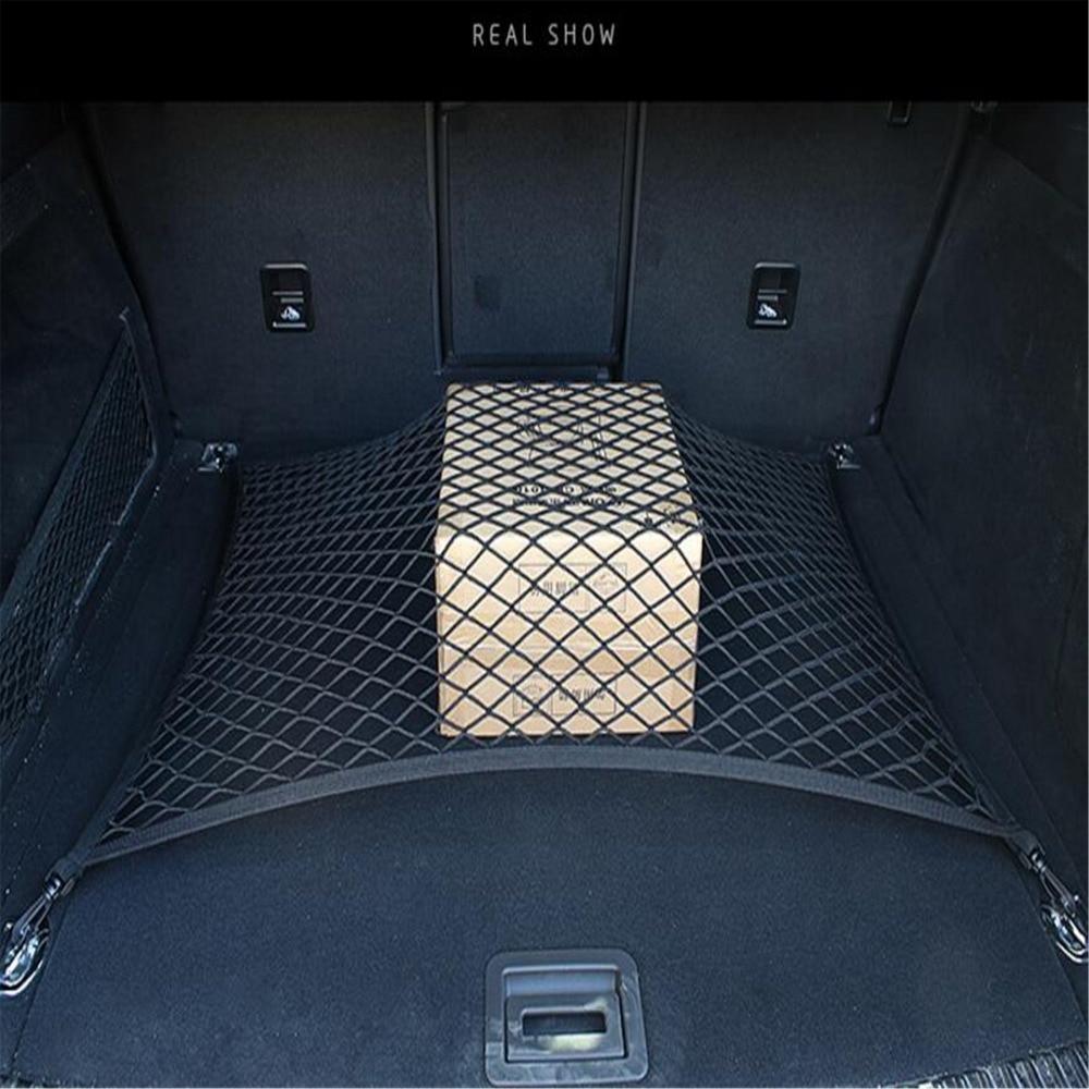 Organizador de almacenamiento de red de carga para maletero Universal de coche con 4 ganchos accesorios de coche para Forester XV XT RX SVX Loyale BRZ cualquier coche