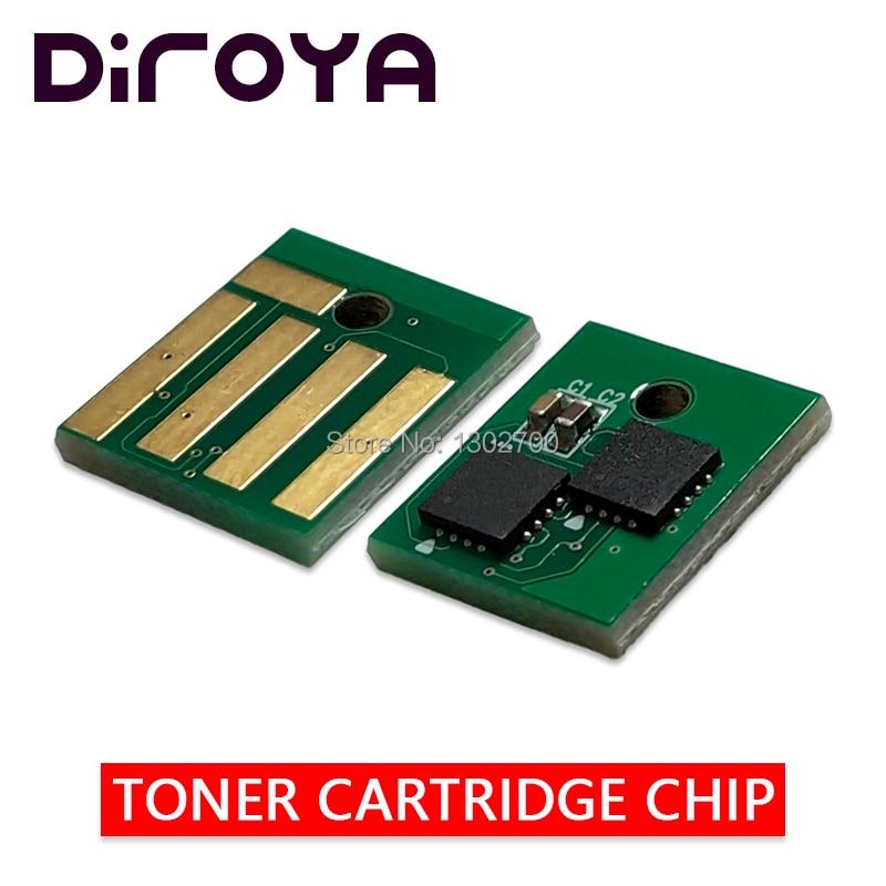 5 pcs 60F2H00 602 H chip Do Cartucho de Toner para impressora lexmark mx310 mx410 mx510 mx511 mx610 mx611 MX 310 410 510 pó redefinir 10 k Europa
