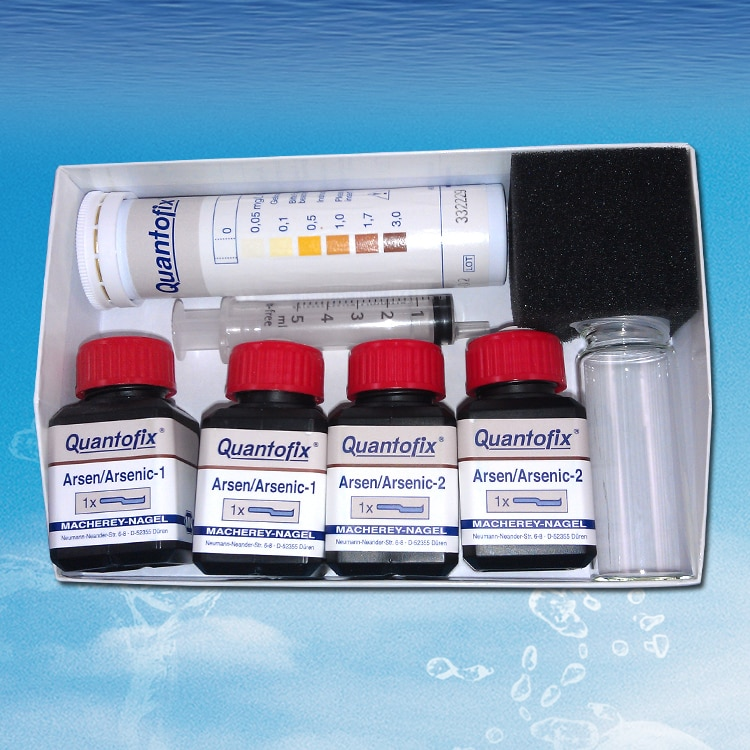 اختبار الزرنيخ As3 +/5 + MN ورق اختبار الزرنينية 91332 شريط اختبار صندوق اختبار الزرنيخ ألمانيا استيراد