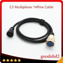 Auto Diagnosekabel für Benz MB Sterne C3 14PIN Kabel für C3 Multiplexer Zubehör Adapter Kabel