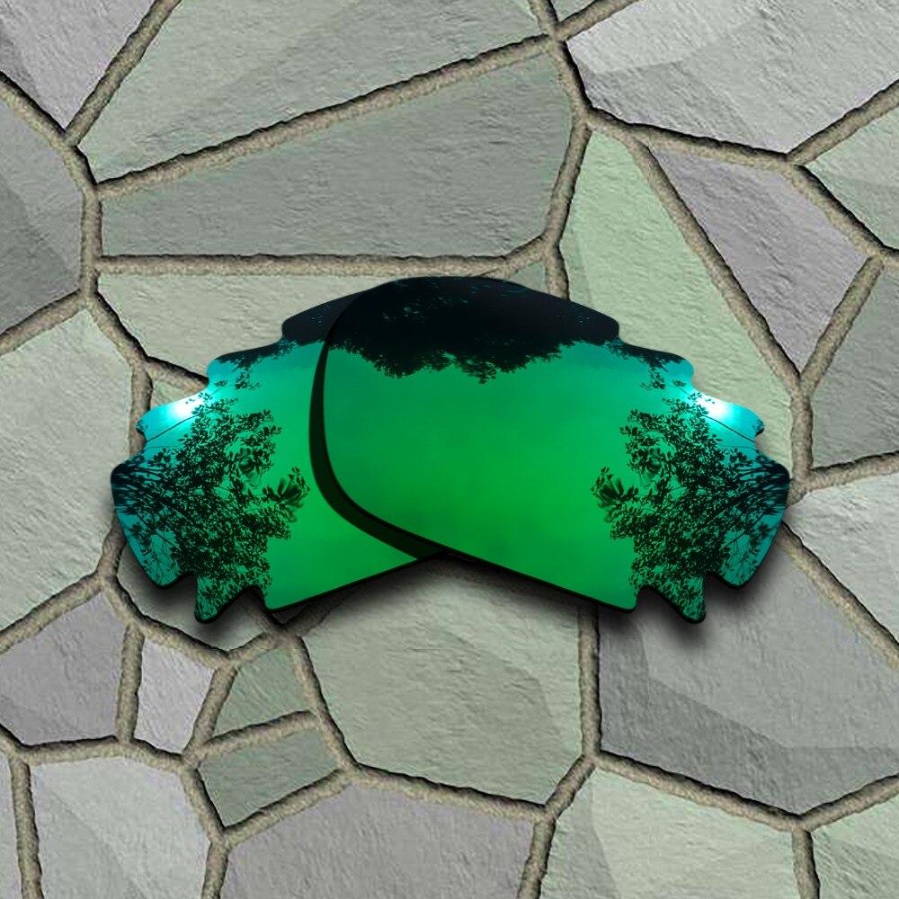 Jade Verde óculos de Sol Polarized Jawbone Vented Lentes de Reposição para óculos Oakley