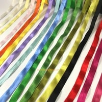 10mroll 13mm100 real pure silk woven double face taffeta silk ribbons for embroidery and handcraft projectgift packing