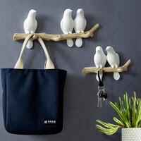 """Настенные крючки """"Птицы на ветке"""" Посмотреть"""