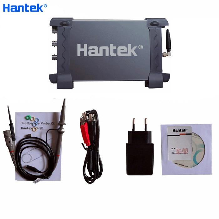 Hantek IDS1070A WI-FI USB 70 MHz 2 Canais 250MSa/s Osciloscópio De Armazenamento Adequado para Sistema iOS Andrioid PC