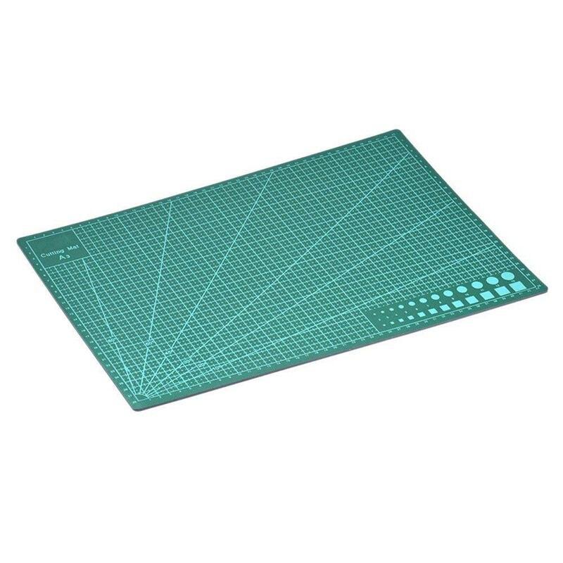 A3 двухсторонний самозаживляющий 5-слойный разделочный мат метрический/имперский 45 см x 30 см стеганая линейка подходит для бумажной карты ткань Cra