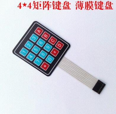 4*4 Matrix Matriz/Matrix Teclado 16 Chave Interruptor de Membrana Do Teclado para arduino 4X4 Matriz Do Teclado
