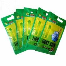 50PCS oder 100PCS 4.5*37mm Angeln Float Leuchtstoff Leucht Light Nacht Float Stange Lichter Dark Glow stick Nützlich Viele Angeln