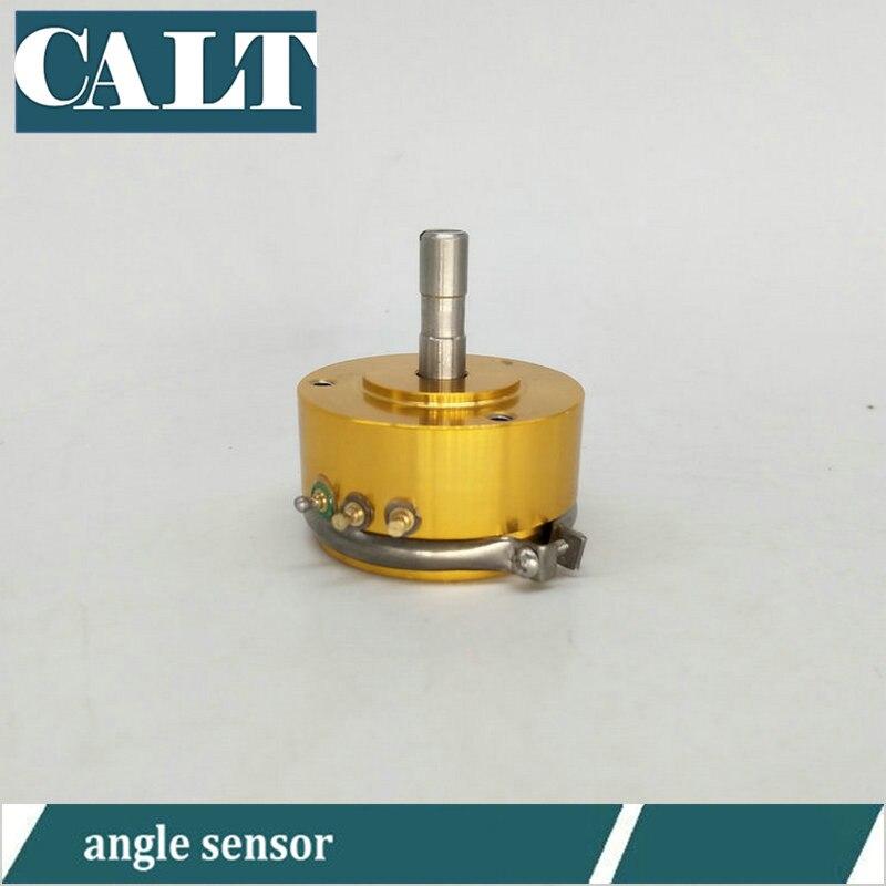 Sensor de desplazamiento angular de plástico conductivo WDD35D4 1K 2K 5K 10K Codificador rotativo de ángulo barato de alta precisión lineal 0.1%