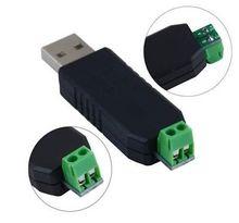 Новый USB к RS485 USB-485 адаптер конвертер Поддержка Win7 XP Vista Linux Mac OS diy Электроника