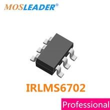Mosleader IRLMS6702 SOT23-6 100 pièces IRLMS6702TR IRLMS6702TRPBF IRLMS6702PBF à Canal P 20 V 2.4A Original Fabriqué en Chine