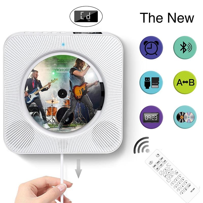 Leitor de cd com Tela Pendurado tipo Educação Nova Versão Atualizada Parede Pré-natal Precoce Aprendizagem Inglês Repetição Bluetooth cd Player