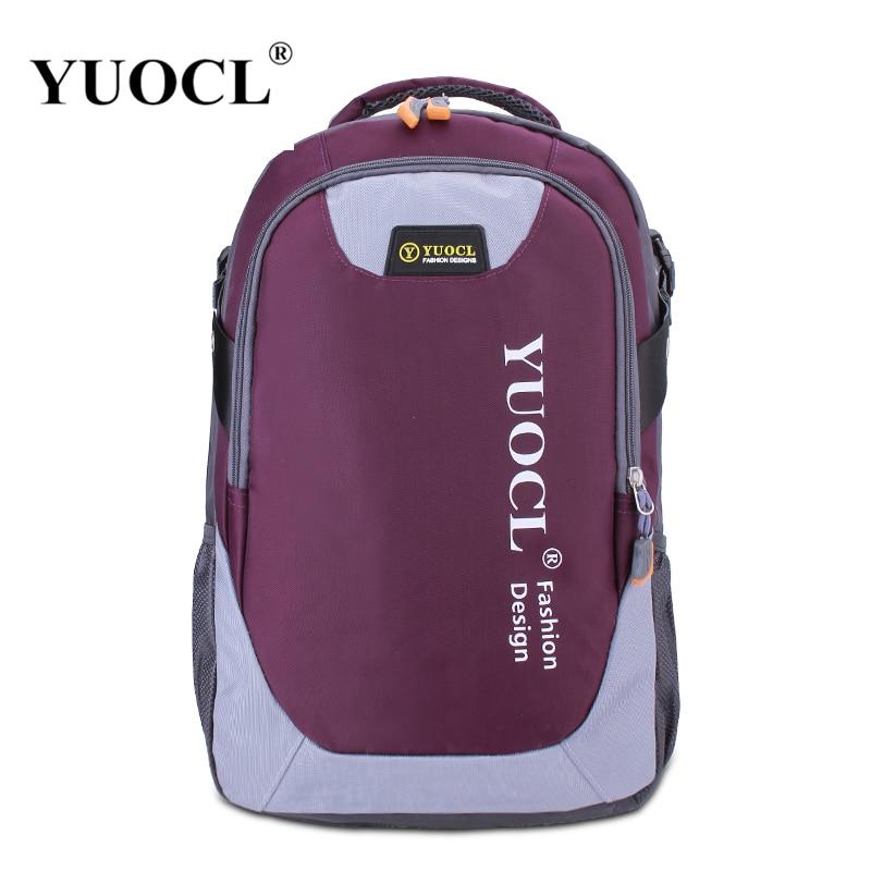 YUOCL, nueva mochila para mujer, mochila femenina, mochila estampada de lona, mochila escolar para mujer, mochila para adolescentes, mochila, mochila