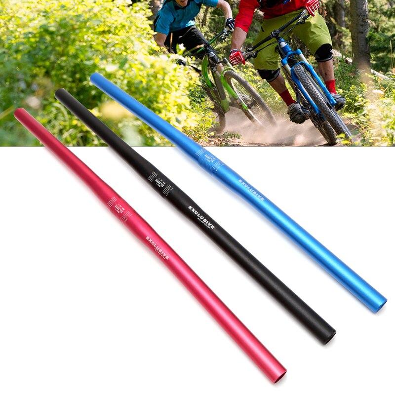 25.4mm 60cm Bicycle Handlebar MTB Handlebars Aluminum Alloy Mountain Bike Flat Cycling Parts