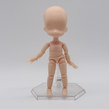 Muñeca obitsu OB11 BJD de 11 CM, Muñeca China de alta calidad con 19 articulaciones, muñeca articulada BJD, regalo de moda para niñas, muñeca bebé
