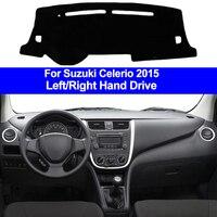 Car Inner Auto Dashboard Cover Dashmat Pad Carpet Dash Mat Cushion 2 Layers For Suzuki Celerio 2015 LHD RHD Car Styling