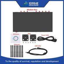 Antecheng nouveau boîtier 1U conçu 8 ports modem 3G SIM5360A module pour sms en vrac